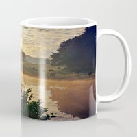 cows Mugs featuring Dawn Cows =) by Mark Bagshaw Photography