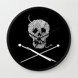 For knitters! Wall Clock
