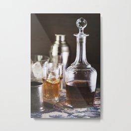 Vermouth  still life. Metal Print