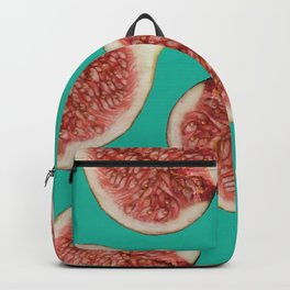 big Figs Pattern turquoise Backpack