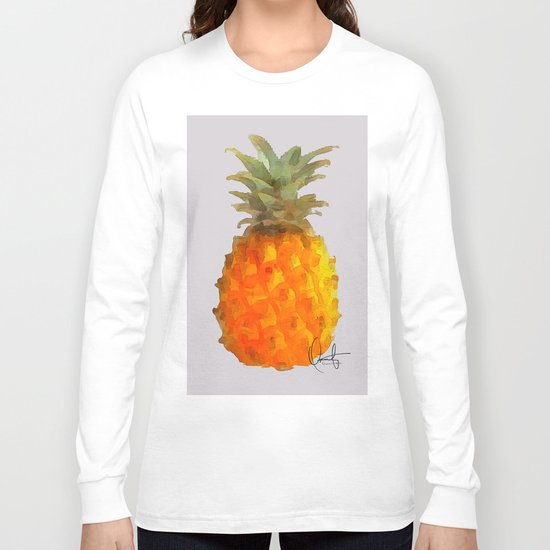 Before Piña Colada Long Sleeve T-shirt