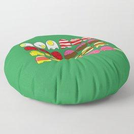 nom nom nom nom nom nom nom ... nom Floor Pillow