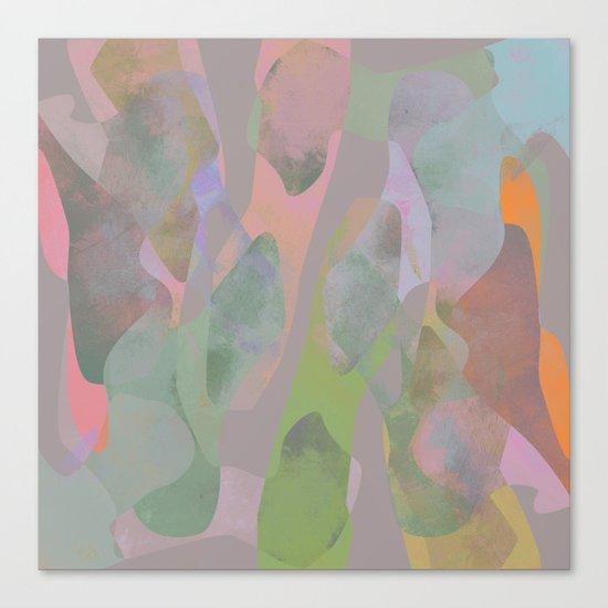Camouflage XIX Canvas Print