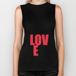 What is Love? Biker Tank