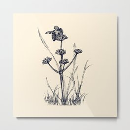 Humble Bee Metal Print