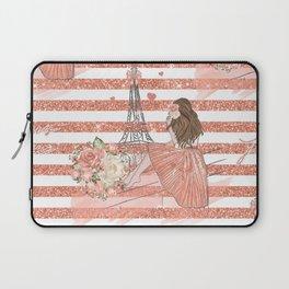 Paris je t'aime Laptop Sleeve