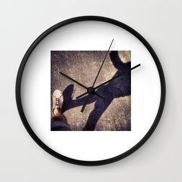 Shoelace Express Wall Clock