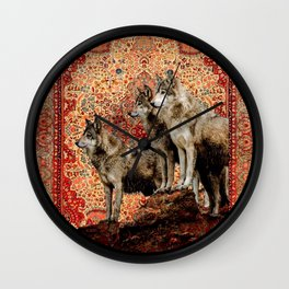 The Wolf Pack - Rudyard Kiplings Jungle Book Wall Clock