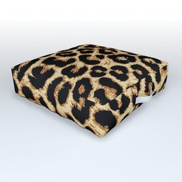 ReAL LeOparD Outdoor Floor Cushion