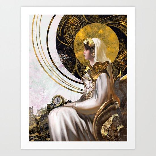 The Analog Queen Art Print