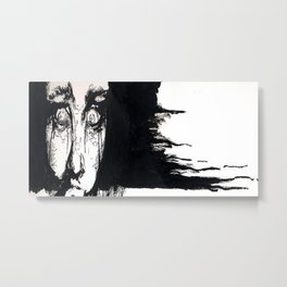 Fright Metal Print