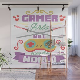 Funny Gamer Gaming Geek Nerdy Accessories Gift Wall Mural