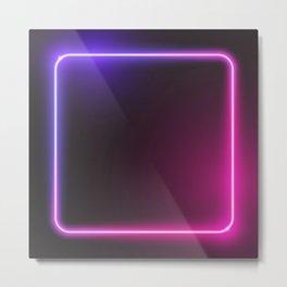 neon4 Metal Print