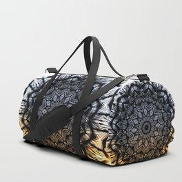 Touch of golden glow Duffle Bag