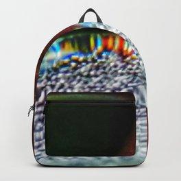 Rainbow Water Droplet Backpack
