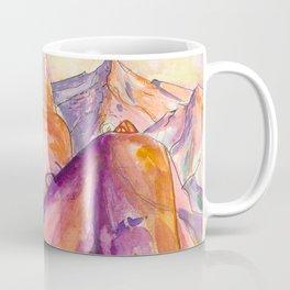One With Nature - Mountain Goddess Watercolor Coffee Mug