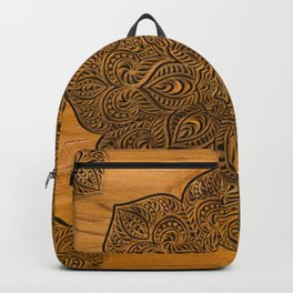 Wood Mandala Backpack