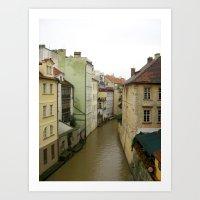 prague Art Prints featuring Prague by Marieken