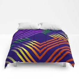 RAINBOW GEOMETRIC Comforters