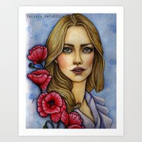 "les miserables Art Prints featuring ""Les Miserables"" by musentango87"