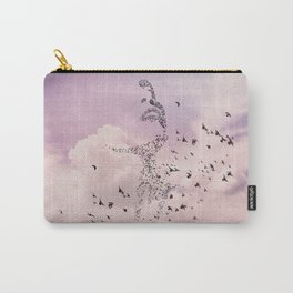 Ms Hitchcock Carry-All Pouch