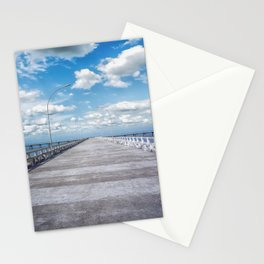 pier photography Stationery Cards