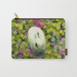Lapin et de Fleurs Carry-All Pouch