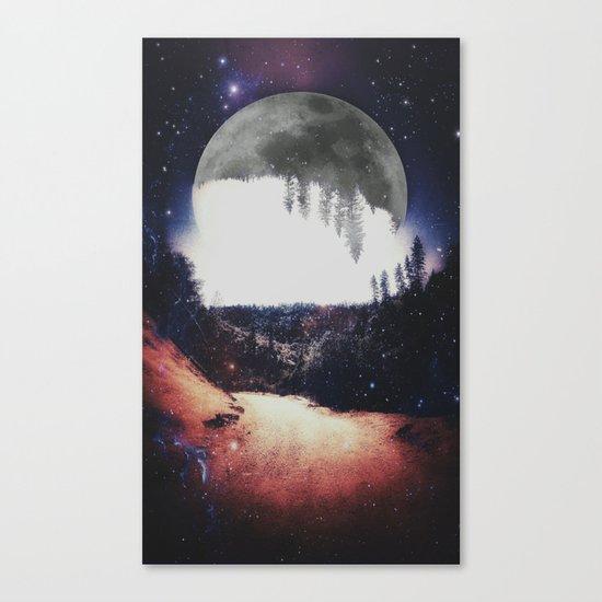 Night Hike Canvas Print
