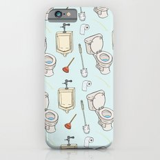Bathroom Pattern Slim Case iPhone 6s
