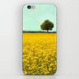 Yellow Fields iPhone Skin