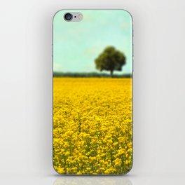 Yellow Fields iPhone Skin