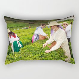 Porto Formoso tea gardens Rectangular Pillow