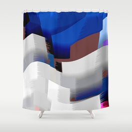 Extrusion V Shower Curtain
