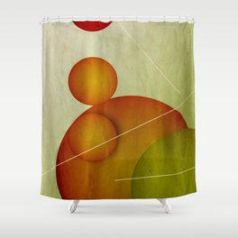 The Life without a Juggler Shower Curtain