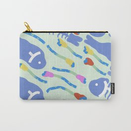Fish out of water, green Carry-All Pouch