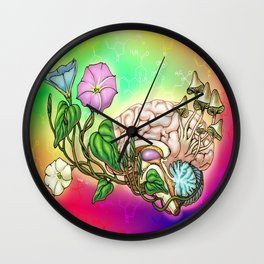 Growing Hope Wall Clock
