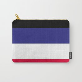 Leather Pride Flag Carry-All Pouch