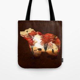 Bears in the Woods Tote Bag