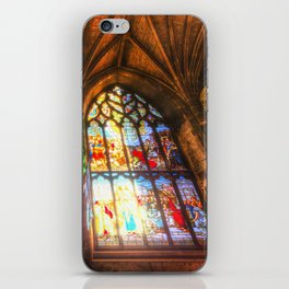 Cathedral Stained Glass Window iPhone Skin