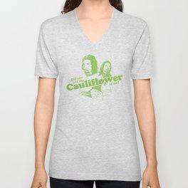 Cauliflower   Green Unisex V-Neck