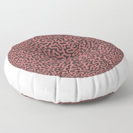 Turing Pattern Sphere (Rose Gold) Floor Pillow