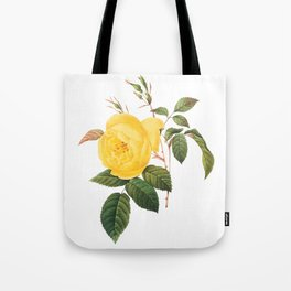 Vintage Yellow Rose [01] Tote Bag