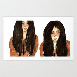 RUBIA Art Print
