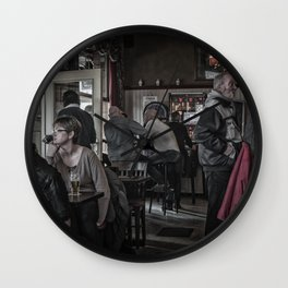 The Usuals Customers Wall Clock