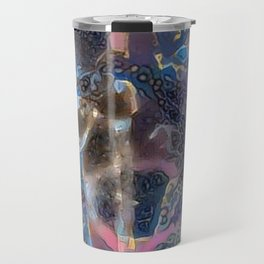 Oriental Ancient Warrior Procession Travel Mug