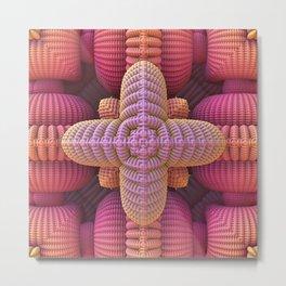 Extreme Crocheting? Metal Print