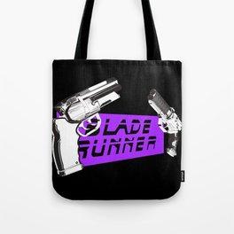 Time to die Version Neon Purple Tote Bag
