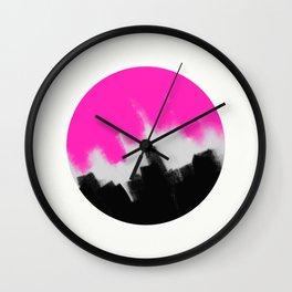 Colour Confrontation Wall Clock