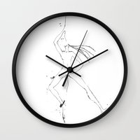shiva Wall Clocks featuring Shiva II by Simi Design