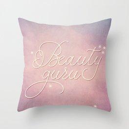 Beauty Guru Throw Pillow